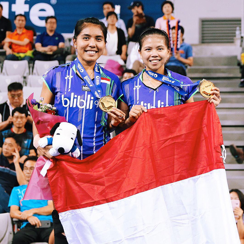The Perks Of Being Twenty Greysia Polii Badminton Athlete Indonesia Gold Medal Olympic Jakarta Inspiring People Henry Gerson Gerson Henry 05