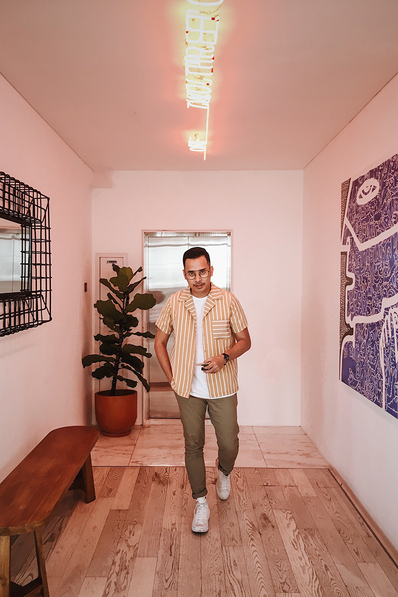 The Perks Of Being Twenty Henry Gerson Gerson Henry Onthree Coffee Shop Senopati Suites Jakarta Lifestyle Fashion OOTD 02