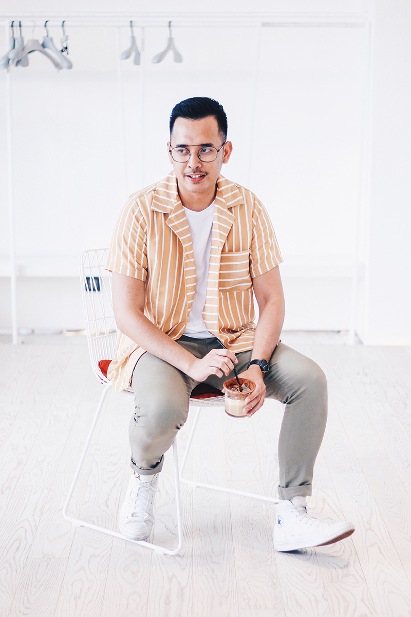 The Perks Of Being Twenty Henry Gerson Gerson Henry Onthree Coffee Shop Senopati Suites Jakarta Lifestyle Fashion OOTD 18