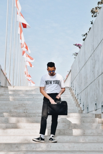 Henry Gerson Gerson Henry Lifestyle Mens Fashion OOTD Jakarta Indonesia Streetstyle Blog Menswear Topman Zara Erigo Bershka Cotton On Uniqlo Muji Converse HnM Lapangan Banteng 18